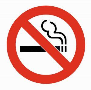 logo défense de fumer